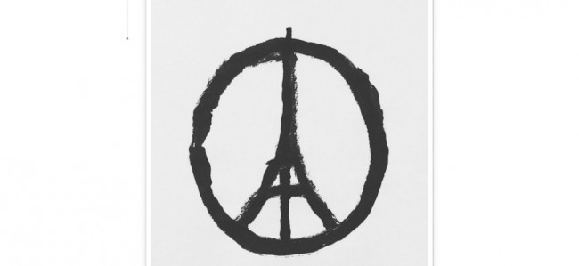 'Peace for Paris', Simbol Kekuatan Paris Usai Serangan
