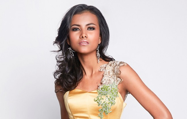 Gresya Amanda Menangkan Best National Costume di Miss Supranational 2015