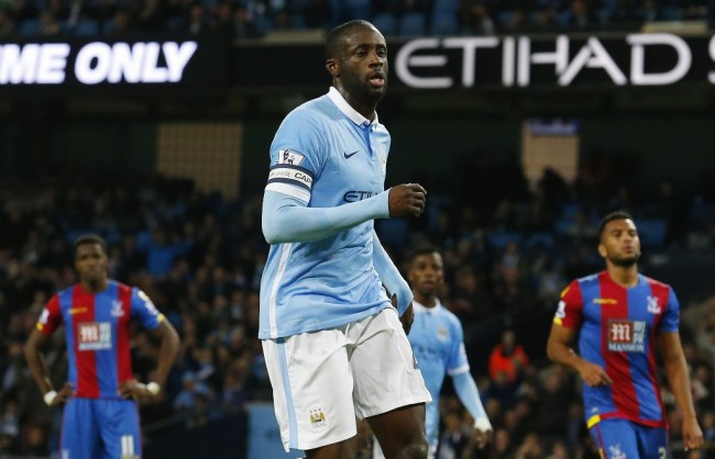 Yaya Toure Yakin Manchester City Raih <i>Quadruple</i>
