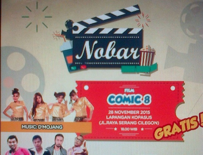 Yuk, Nobar Film 'Comic 8' Bareng Metro TV