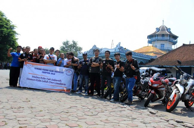 Yamaha V-Ixion Club Indonesia Solo Perkenalkan Spirit of Java