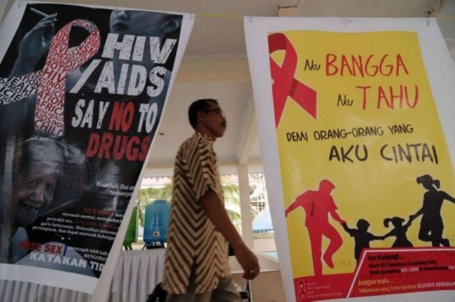 Number of HIV/AIDS Cases in Indonesia Rising