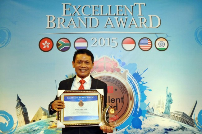 Lorin Solo Hotel 5 Kali Raih Excellent Brand Award