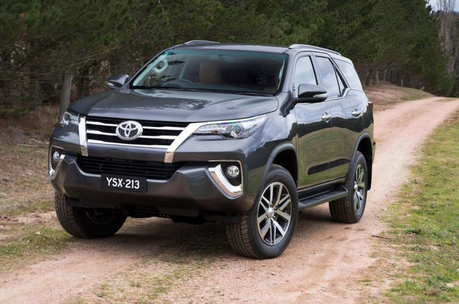 Toyota All New Fortuner Sapa Indonesia Januari 2016