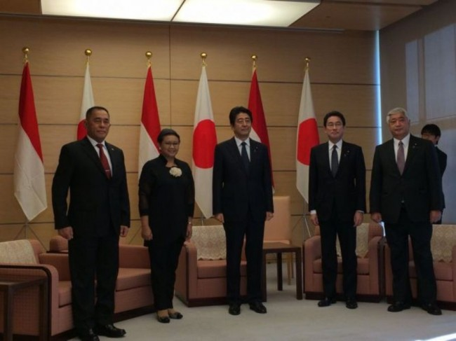 Indonesia Asks Japan to Fasten Maritime Cooperation Implementation