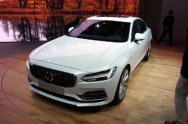 Volvo S90 2017 Debut Global di Detroit Auto Show 2016