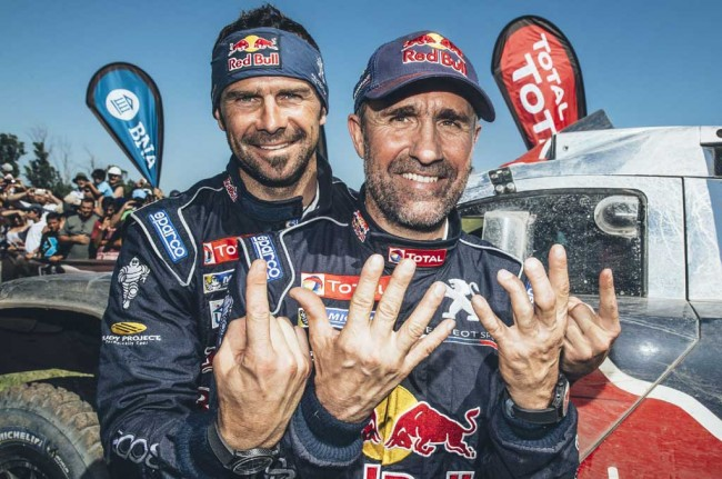 Stephane Peterhansel Raih Juara Dunia ke-12 di Dakar Rally
