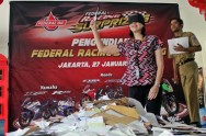 Federal Oil Umumkan 5 Pemenang Federal Racing Surprizing