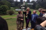 Belgian Princess Visits Street Named After Her Ancestor in Bogor Botanical Park
