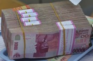 Soaring Rupiah Causes Prone Economy for Indonesia