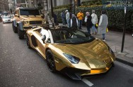 <i>Plesir</i> ke London, Miliuner Arab Bawa 4 Supercar Emas