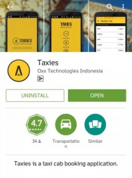 Taxies, Application Launched by Taxi Operators in Yogyakarta