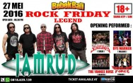 Rock Friday Legend Concert 2016 Bersama Jamrud, 27 Mei
