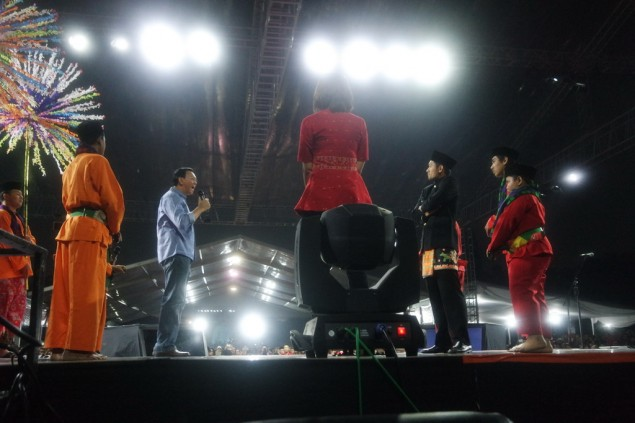 Ahok Disambut Meriah di Mata Najwa On Stage