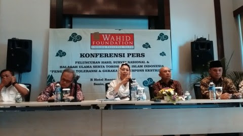 Most Indonesians Reject Radicalism: Wahid Foundation Survey