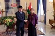 Retno Conducts Bilateral Meeting with Oman Foreign Minister