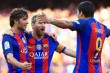 Suarez <i>Hattrick</i>, Barcelona Gilas Real Betis