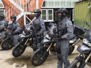Pasukan Anti Teror London 'Dipersenjatai' BMW F800GS