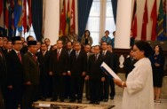 Foreign Minister Inaugurates 10 Indonesian Consul Generals