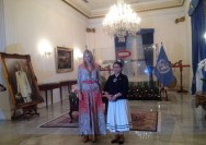 FM Retno Meets Queen Maxima of Netherlands