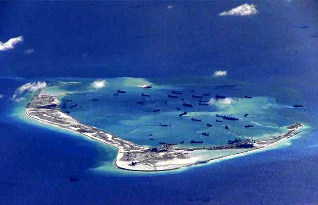 Great Powers in South China Sea