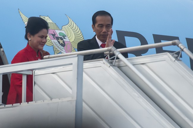 Jokowi Departs for G20 Summit in China