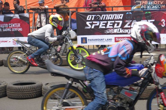 Drag Bike Otomania Speedzone Sambangi Bez Auto Center