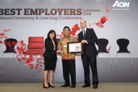 Telkom Dinobatkan sebagai Best of The Best Employers 2016