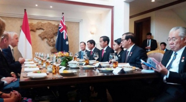 Jokowi & Turnbull Discuss Anti-Terrorism Cooperation