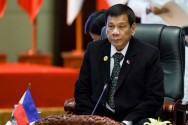 Duterte Tak Hadiri KTT ASEAN-AS di Laos