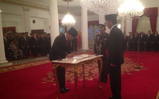 Budi Gunawan Inaugurated as BIN Chief