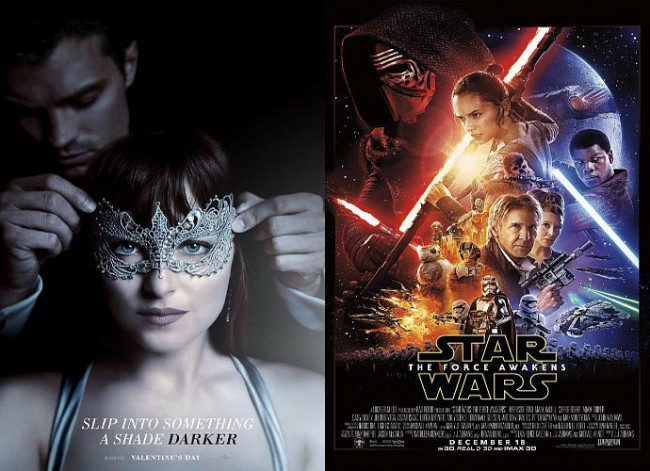 Trailer Film Fifty Shades Darker Pecahkan Rekor Star Wars VII