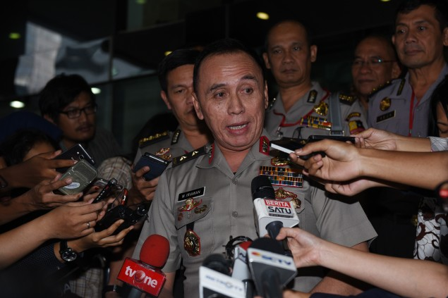 M Iriawan Appointed as Jakarta Metro Police Chief