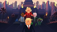 Aksi Donald Trump dalam Game Mobile Jrump
