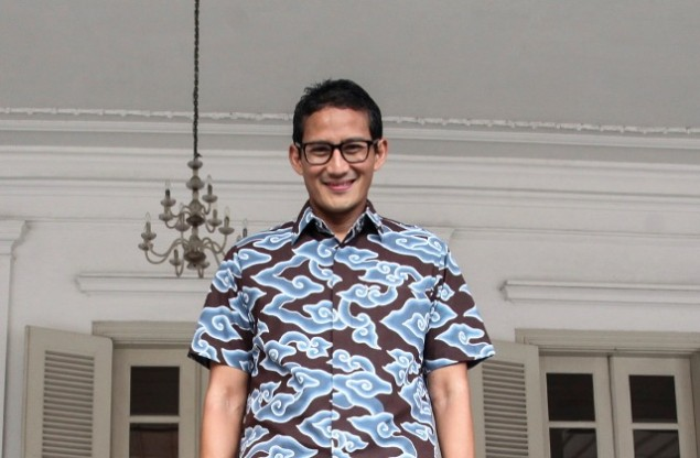Only Two Candidates in Jakarta Election: Sandiaga Uno