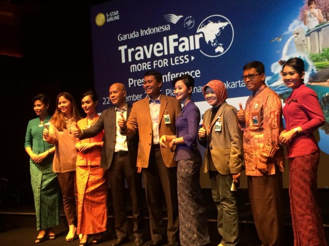 Garuda Travel Fair 2016 Digelar 7-9 Oktober