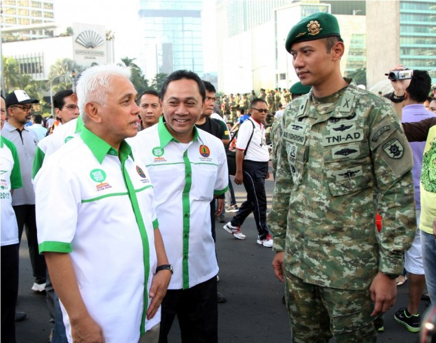 Agus Yudhoyono to Resign from Military