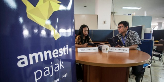 Gov't Eases Tax Amnesty Administrative Process