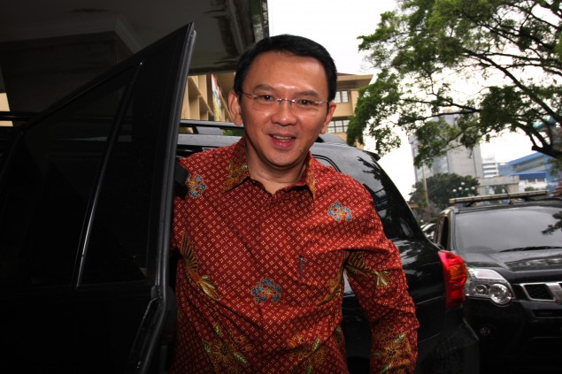 Four Parties to Discuss Ahok's Campaign Team