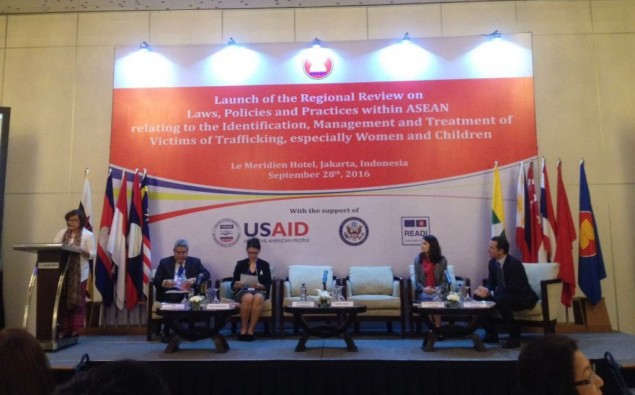 AICHR Committed to Help Trafficking Victims