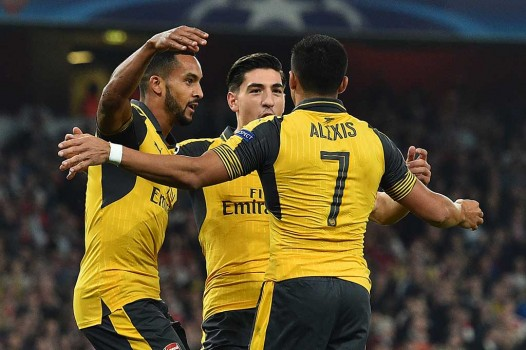 Arsenal Tekuk Basel 2-0