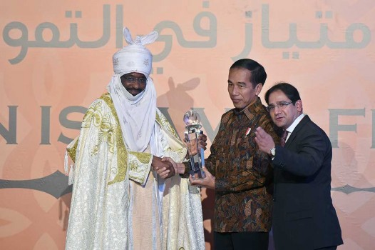 Presiden Terima Penghargaan Global Islamic Finance Leadership 2016