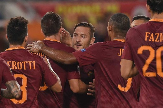 AS Roma Pesta Gol ke Gawang Astra