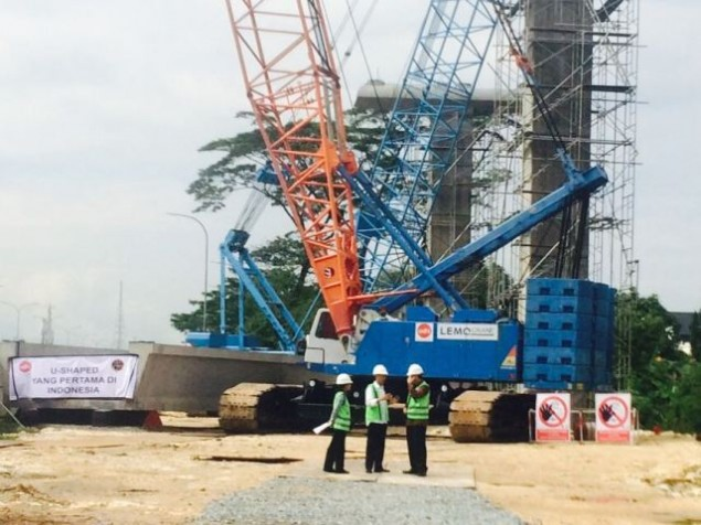 Jokowi Inspects LRT & MRT Projects