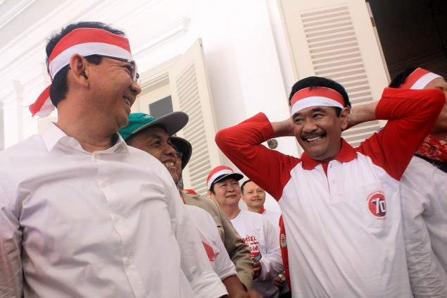 Ahok-Djarot Campaign Team Registers with Election Commission
