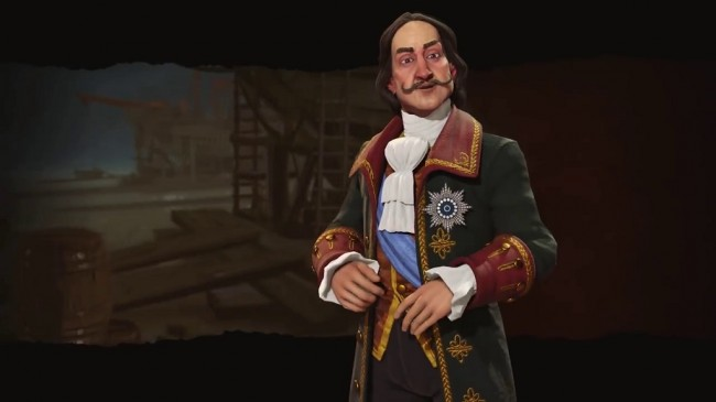 Rusia Dipimpin Peter The Great di Civilization VI