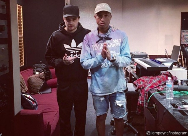 Siapkan Album Solo, Liam Payne Gandeng Pharrell Williams