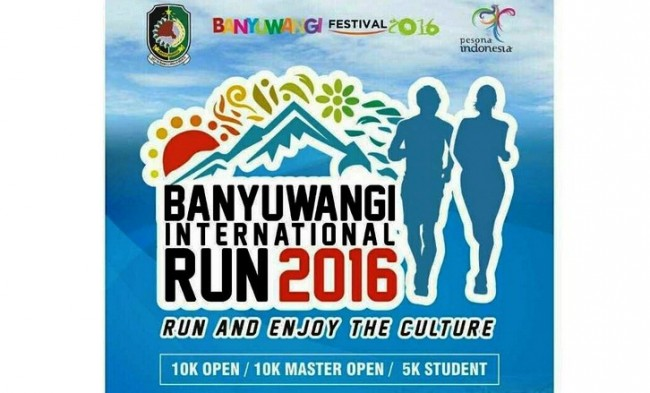 Heboh, Banyuwangi International Run 2016