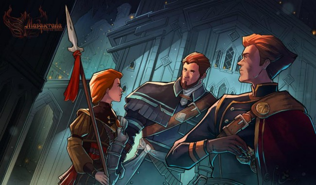 Masquerada: Songs and Shadows, RPG Indie dengan Gaya Unik