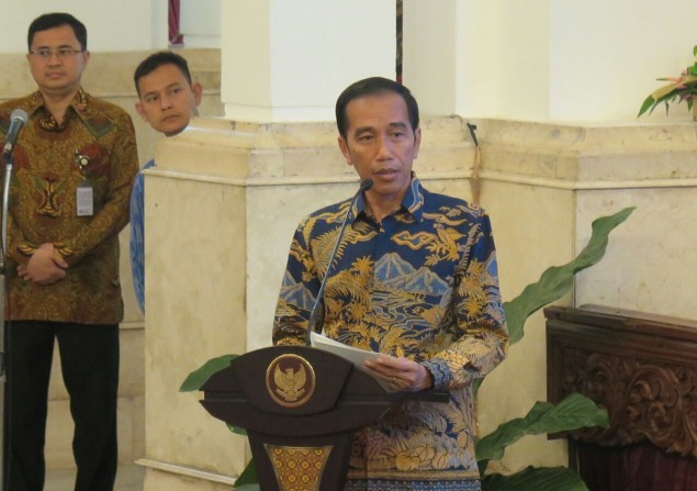 Jokowi Opens International Symposium on Fisheries Crime